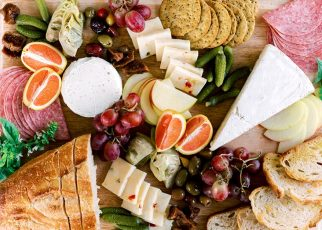 Cheese platters and frozen meals